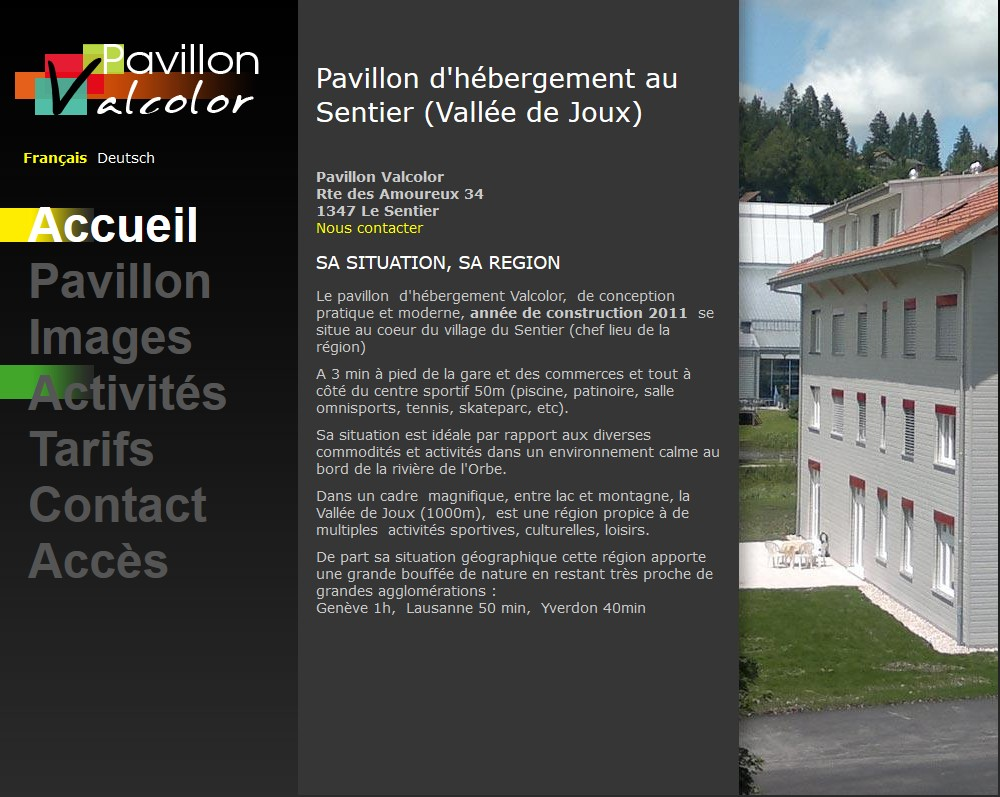 Pavillon ValColor